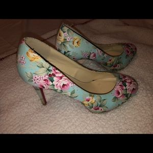 Floral Heels by Shoedazzle